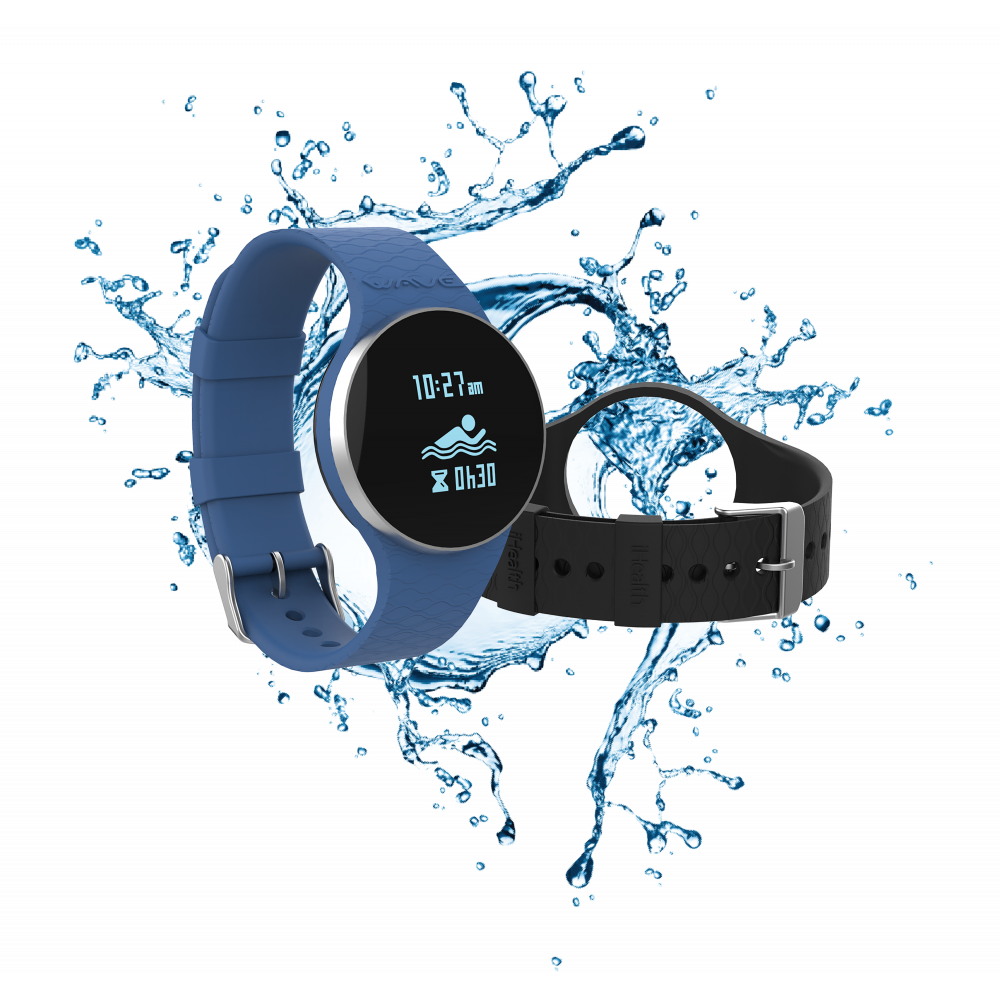 887c7b3035b656 iHealth Wave - Bracciale connesso per l'attività fisica, il nuoto e il sonno