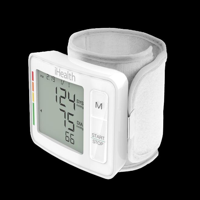 Monitor de glicose iHealth Gluco+ ligado (kit BG5S)