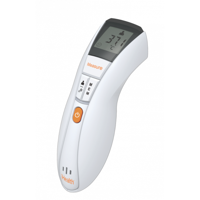 Thermomètre sans contact infrarouge connecté iHealth ThermoPro (NT13B)